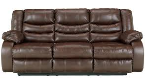 delightful durablend with faux leather couch and faux leather sectional