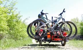 sidecar mountain bike adventure