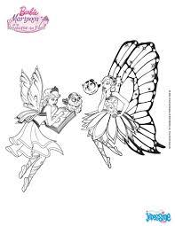 Barbie Et Son Amie Avec Le Gros Livre Magique Un Coloriage In Dit