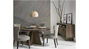 mesmerizing intended for monarch shiitake 60 round dining table crate and barrel dining table and sideboard wonderful dining table and sideboard