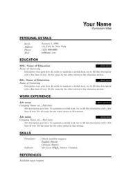 Simple Resume Format Pdf Simple Resume Format Resume Format