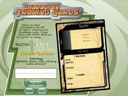 how to make your own trading cards character trading cards