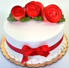 Simple Flower Design Cake Pastry Palace