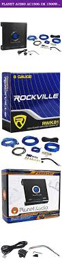 rockford fosgate r250x1 250 watt rms mono block car audio planet audio ac1500 1m 1500w mono car audio amplifier amp ac15001m 8 ga amp