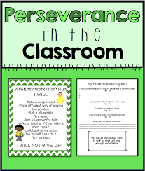 Perseverance In The Classroom Counselorchelsey On Tpt Growth