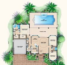 house floor plan with swimming pool lovely best 25 house plans with pool ideas on