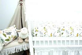 boho baby nursery bedding tribal crib soul rail guards girl