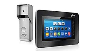 Godrej <b>7 Inch Video Door</b> Phone (VDP) Kit - ST7 SEVD8950 ...