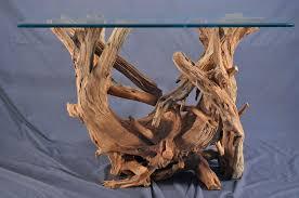 Custom Made Driftwood Sofa Table