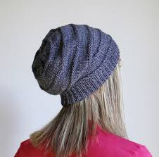 Free Slouch Hat Knitting Patterns Fascinating Free Pattern Friday Favorite Knit Slouchy Hat By Jamie Sande