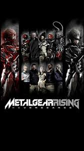 metal gear rising revengeance characters iphone 5s se wallpaper