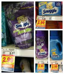 How Much Fabric Softener To Use Snuggle Fabric Softener Only 199 At Kroger Kroger Krazy