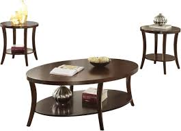 acme furniture iara 3 piece coffee end table set in espresso by acme furniture 82260