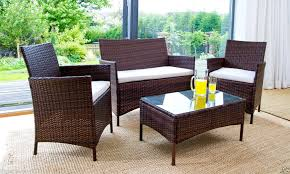 rattaneffectgardenfurnitureastonishingrattantableandchairsg outdoor furniture clearance awesome outside table and chairs
