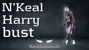 N'Keal Harry Stats & Fantasy Ranking ...