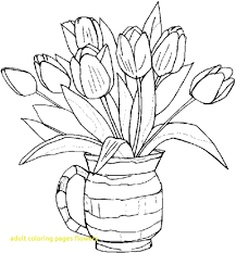 Adult Coloring Pages Flowers Luxury Flower With Many Petals Flowers
