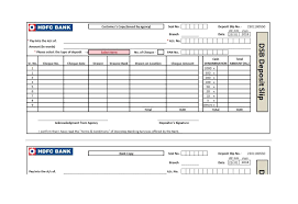 Slip Template 24 Bank Deposit Slip Templates Examples Template Lab 1