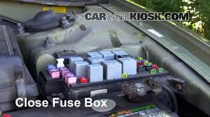 blown fuse check hyundai sonata hyundai sonata 6 replace cover secure the cover and test component