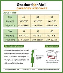 Cap And Gown Measurement Chart Amazon Com Graduationmall Unisex Uk Bachelor Graduation