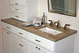 modern bathroom vanity countertops