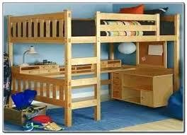 wooden bunk bed with desk underneath elegant queen bunk bed desk photos with underneath loft for