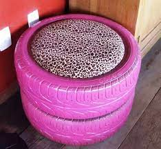 tire seats tire ottoman tyres recycle