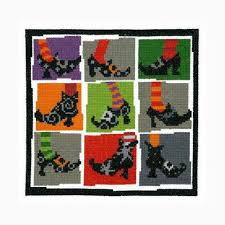 Imaginating Cross Stitch Charts Halloween Shoes