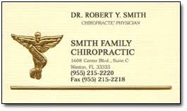 Chiropractic Business Cards And Chiropractor Business Card Ideas