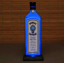 Liter Bottle Lights Bombay Sapphire Blue Led 1 Liter Liquor Bottle Lamp Night