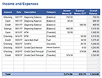 excel checkbook formula free excel checkbook register printable