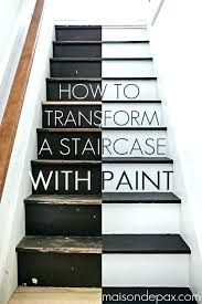 best paint for stairs staircase painting ideas on painted wooden how to timber painti wood stairs