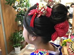 日本髪 七五三着物を着るときに 宇都宮の床屋ヘアーサロン スタンザ