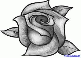 Small Picture Drawn Rose 2 olegandreevme