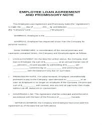 Employee Loan Agreement Letter From Company To Clearance
