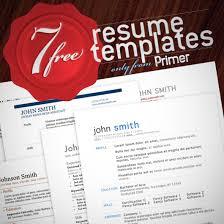 7 Free Resume Templates Classy 28 Free Resume Templates