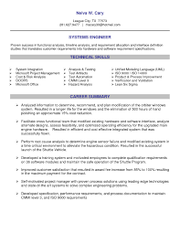 System Engineer Resume Information Systems Engineer Sample Resume Nardellidesign 18