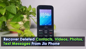 text messages from jio phone