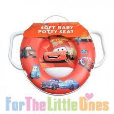 Disney Pixar Cars Soft Potty Toilet Training Seat For The Little