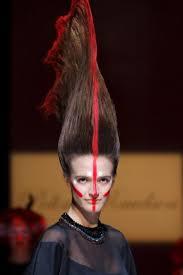 Подиумные причёски st petersburg fashion week ss