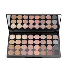 makeup revolution ultra 32 shade eyeshadow palette flawless matte amazon co uk beauty