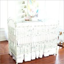 shabby chic crib bedding cribs skirt hypoallergenic dream on me cotton zebra mint green toy story shabby chic crib bedding