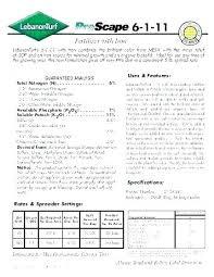 Lawn Products Where Lesco Turf Fertilizer 15 5 10 Bags