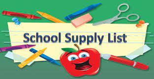 Orlando Science Elementary School - Supply List