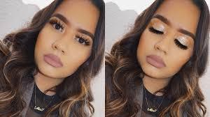 soft fall glam makeup tutorial contour round face like a pro