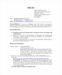 Resume Career Objective Statement Beauteous Good Resume Objective Examples Lovely Skills Resume Template From