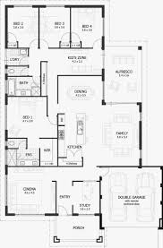 4 bedroom house floor plans best of 25 best ideas about 4 bedroom house plans on