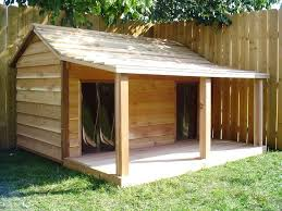 DIY Dog-House Design Plans And if it was made a bit bigger, for