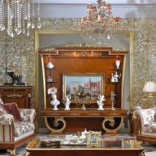 Wooden Cabinets For Living Room 0038 Luxury Antique Tv Lcd Wooden Cabinet Designs For Living Room