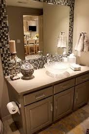 bathroom mirror frame tile. Delighful Tile Framed Mirror In Bathroomu2026spare Bathroom Not A Fan Of The Sink But Yes To  Backsplash Framed Mirror Intended Bathroom Frame Tile H