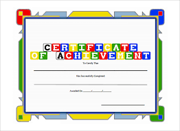 Kids Award Certificate 6 Award Templates Doc Pdf Free Premium Templates